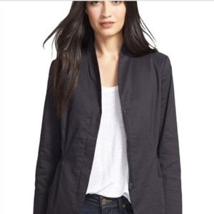 Eileen Fisher zip up blazer size large